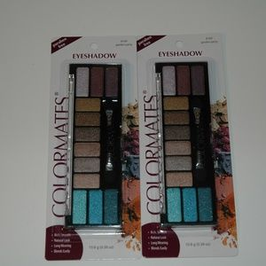 Colormates eyeshadow palettes garden party 2 pack
